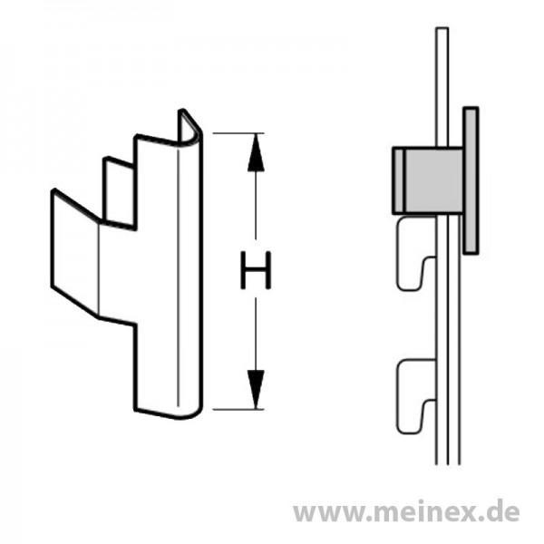 Rückwandsicherung Tegometall - 100 Stk / VPE