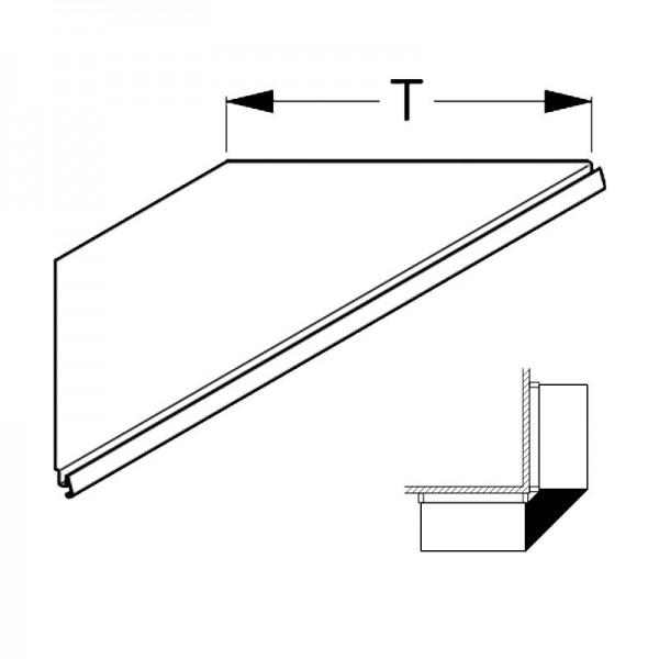 Steel Shelf Tegometall external corner 90°